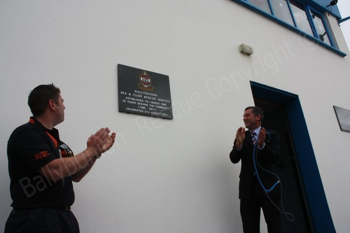 Official Unveiling of plaque